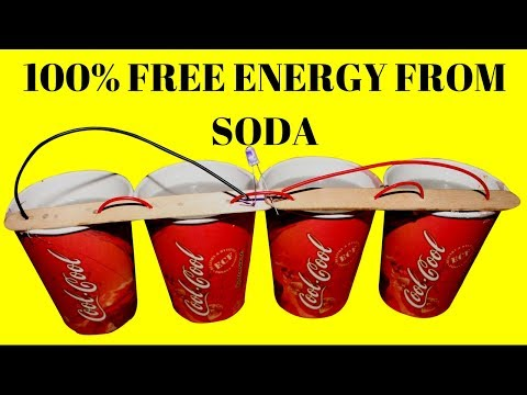 100% Free Energy Mini Light Bulbs Using Baking Soda - Free Energy Light Bulbs
