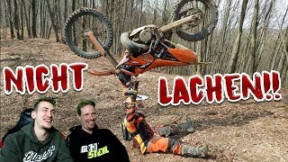 Try NOT to LAUGH! | Motorrad Version!