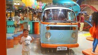 Um dia de diversão com o Rafael na brinquedoteca do Shopping