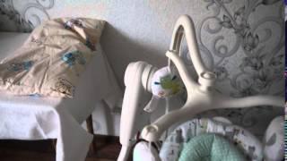 Электрокачели Graco Lovin'Hug(Обзор электронной качели, все плюсы и минусы!!!!!, 2015-10-08T15:56:59.000Z)
