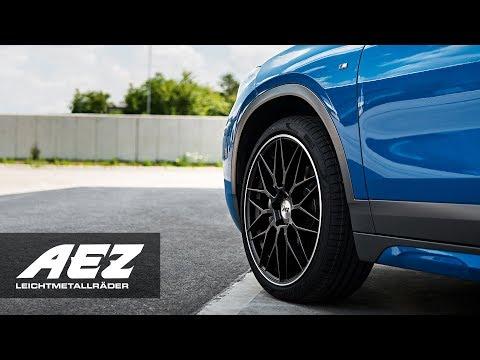 AEZ featuring BMW X2 on AEZ Crest dark