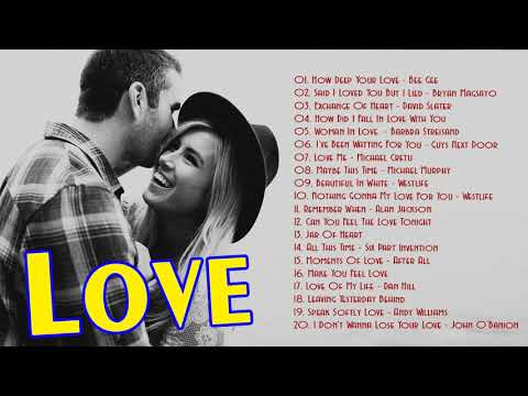 Love Songs Collection Of The 70s 80s 90s  Greatest Old Beautiful Love Songs Collection
