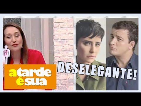 """Rafael Cortez Revela Quem """"pegou"""" E Sonia Abrão Detona"""