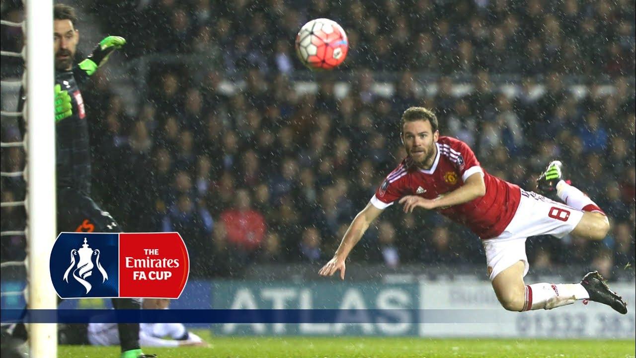 Derby 1-3 Man Utd - Emirates FA Cup 2015/16 (R4) | Goals & Highlights