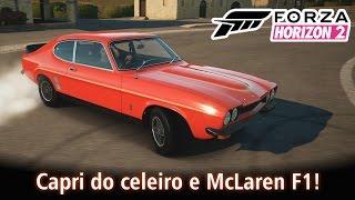 Capri do celeiro e McLaren F1! | Forza Horizon 2 [PT-BR]