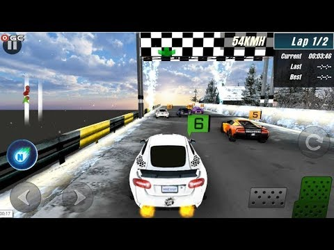Ice Rider Racing Cars - Winter Speed Car Race - Android Gameplay FHD