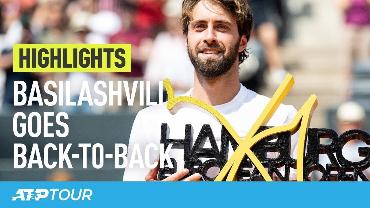 Basilashvili Rules Again In Hamburg | HIGHLIGHTS | ATP