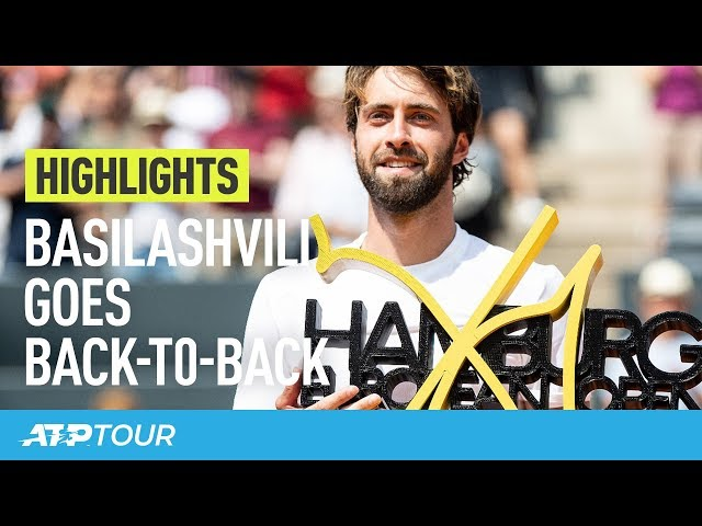 Basilashvili Rules Again In Hamburg | HIGHLIGHTS | ATP