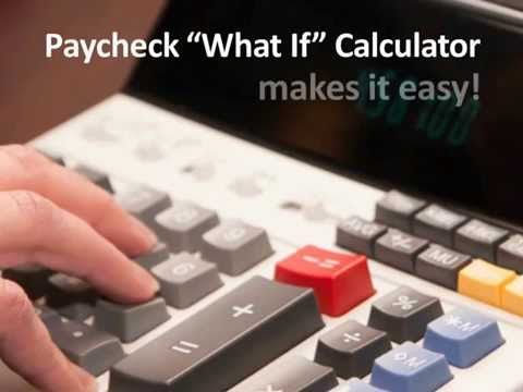 "Paycheck ""What If"" and Gross Up Calculator Demo Video"