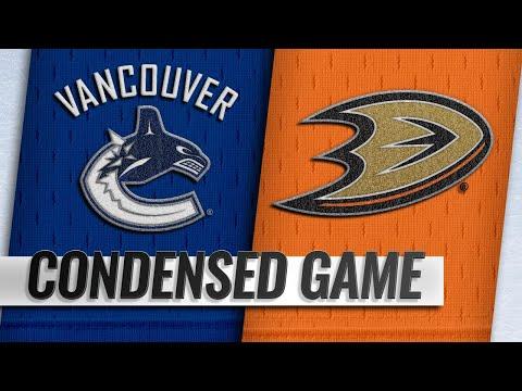 11/21/18 Condensed Game: Canucks @ Ducks