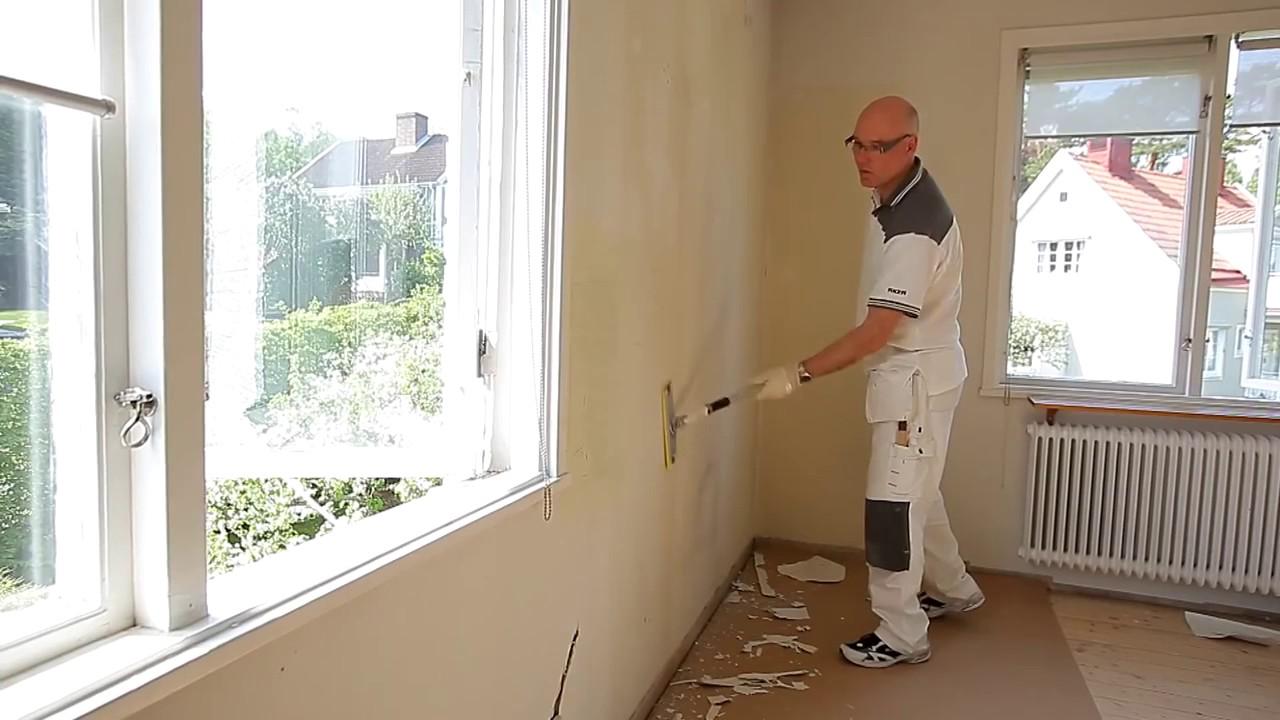 spartle ujævn væg