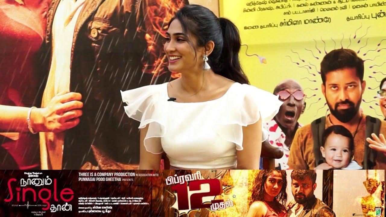 Deepti Sati Interview I Naanum Single Thaan Movie I Feb 12 Release I Tribute to virgin pasanga fans
