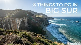 Big Sur: 8 Things to do on a Highway 1 Road Trip