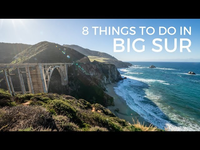 Big Sur: 8 Things to do on a Highway 1 Road Trip  - Buy American