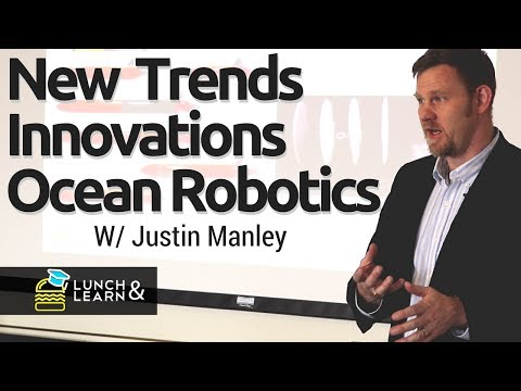 Underwater drones, unmanned ships & the future of ocean tech