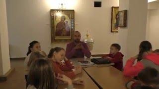 Урок в воскресной школе о святом Андрее Первозванном и флаге ВМФ РФ