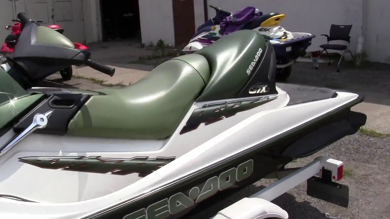 2002 Seadoo Gtx-Di Jet Ski Walk-Around Video  Helpsellmyrv Com 01:20 HD