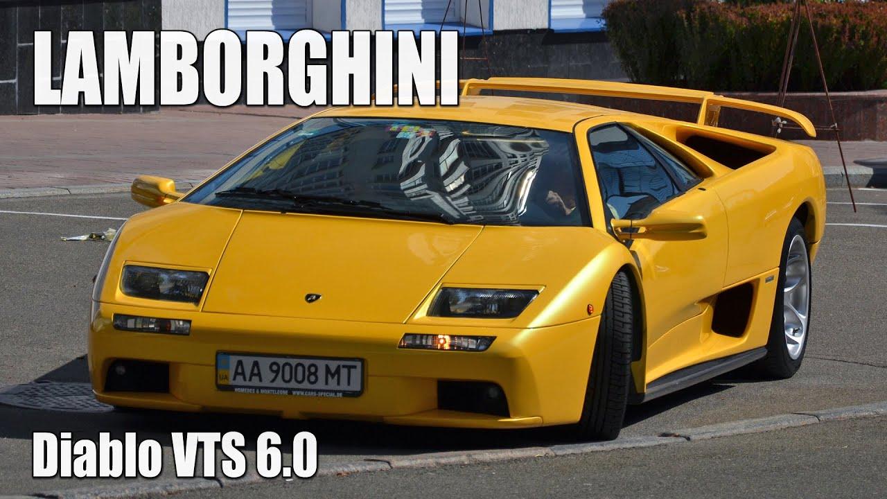 Good Lamborghini Diablo VTS 6.0 In Kiev
