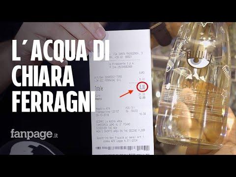 Abbiamo provato l'acqua di Chiara Ferragni (da 8 euro a bottiglia)