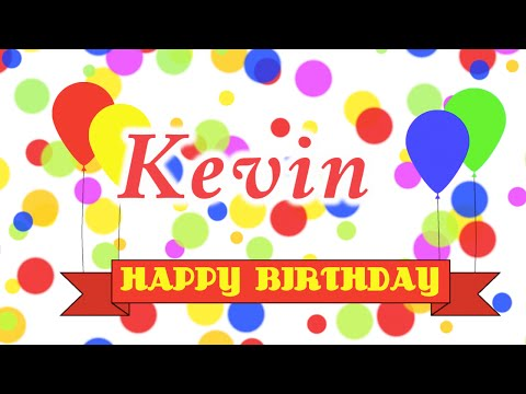 Happy Birthday Kevin Song