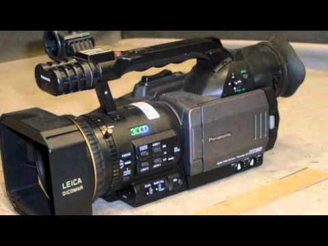 5 Panasonic DVX100B Digital Video Cameras on GovLiquidation.com