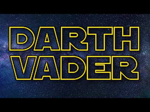 An Ode to Darth Vader -- Young Jeffrey's Song of the Week