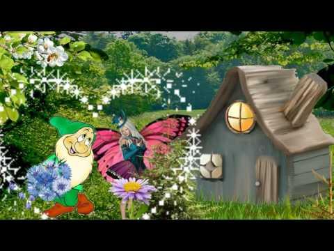 #Сказка Гном и Бабочка