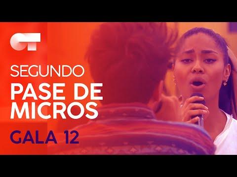 """""""HOY TENGO GANAS DE TI� - NIA y BLAS CANTÓ   SEGUNDO PASE DE MICROS GALA 12   OT 2020"""