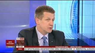 Kandydaci PSL przepytywani ze znajomości języka angielskiego? (Gość Poranka TVP Info, 08.05.2013)