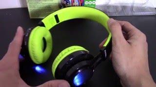 Glow Gear Wireless Bluetooth Foldable Headphones (Rebelite)