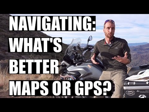 Should You Use Maps or GPS For Motorcycle Travel?