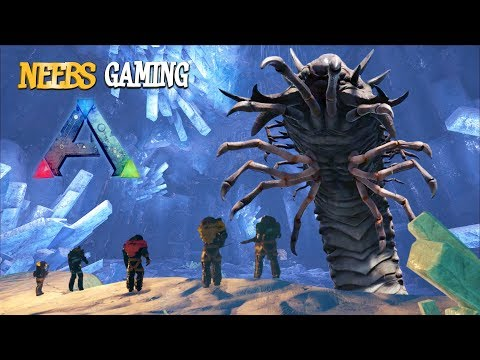 ARK Survival Evolved - Ice Queen Boss Glitch!!!