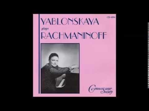 Morceaux de salon, for piano, Op. 10, No 2 Waltz in A major, Sergey Rachmaninov - Oxana Yablonskaya