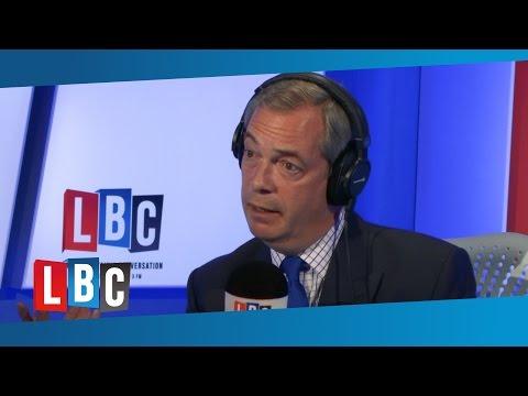Nigel Farage on 'London Not Feeling Like Britain'
