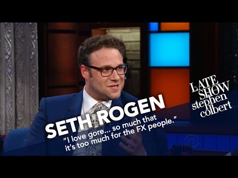 Seth Rogen And Stephen Slide Into Donald Trump Jr.