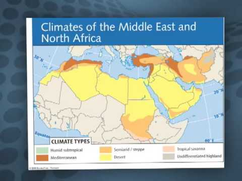 Middle East & Africa: Climate   YouTube