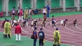 104年全大運 一般男子組田徑100公尺決賽 泓霖