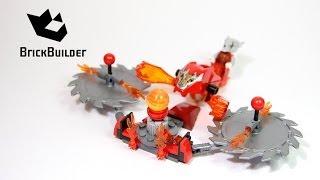 Kijk Lego Chima Speedorz 70149 Scorching Blades filmpje