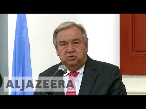 UN chief calls for armed groups to disarm in Central African Republic