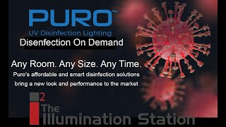 Illumination Station Episode 7 - Germicidal Ultraviolet Disinfection With PURO