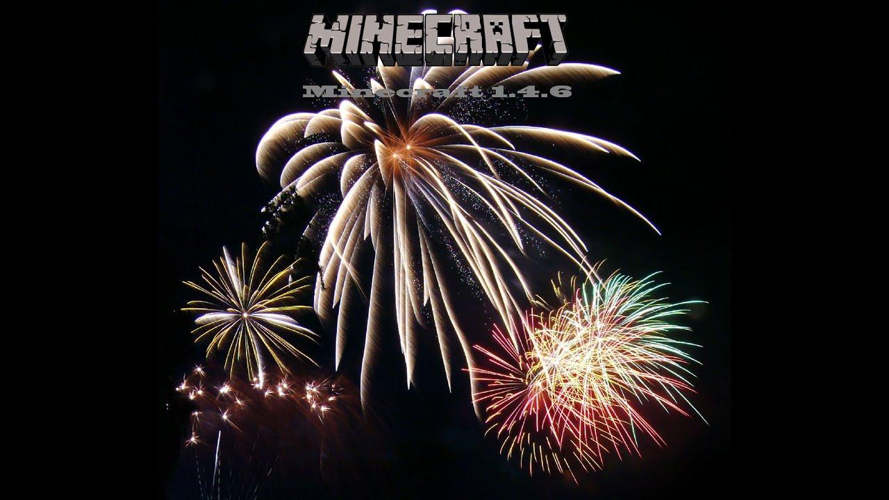 Minecraft Tutorial - Wie man das neue Feuerwerk aus 1.4.6 benutzt ...