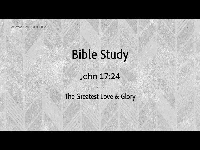 The Greatest Love & Glory   Jeevan Chelladurai   Tuesday Service   AFT Church   03-Nov-2020