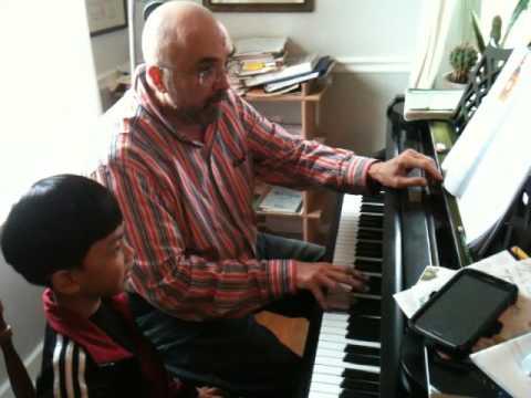 ATi' and his piano teacher 5