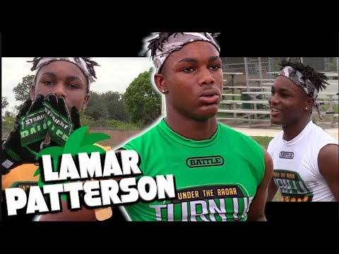 🔥🌴 Florida Youth Football Star || 14 Year Old Lamar Patterson || Under The Radar Spotlight