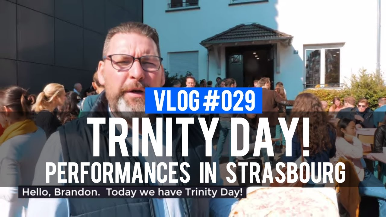 VLOG 029 - Performance in Strasbourg, France | 2018 Trinity Day (@RebirthofSOC)