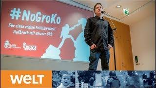 Statement im Willy-Brandt-Haus: So will der Juso-Rebell Kevin Kühnert die GroKo verhindern