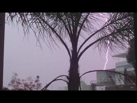 Wild Storm in Brisbane - November 17, 2012