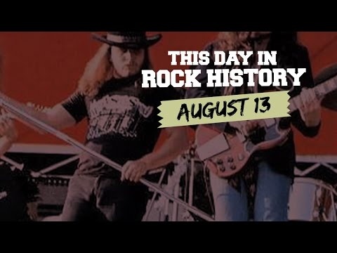 Lynyrd Skynyrd +Jefferson Airplane Debut, 'Detroit Rock City' Released - August 13 in Rock History