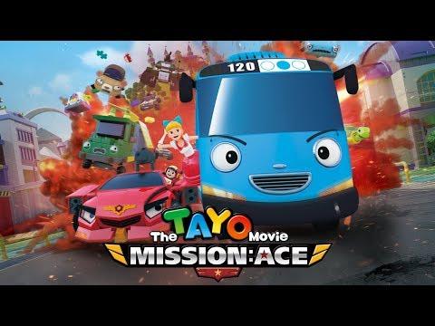 Tayo el película Misión Ace l Tayo el pequeño Autobús