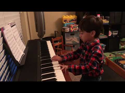 Connor added his own on Beethoven's piano sonata no 8